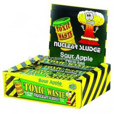 Toxic Waste Apple Chew Bar
