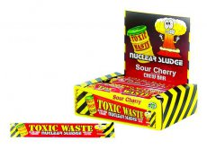 Toxic Waste Sour Cherry Chew Bar
